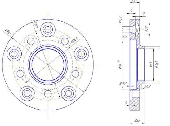 Разболтовка 5×139,7