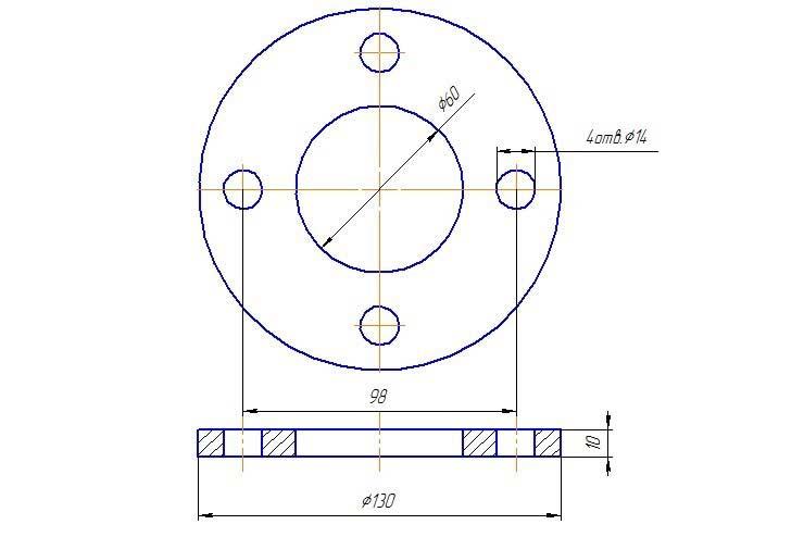 Разболтовка 4×98