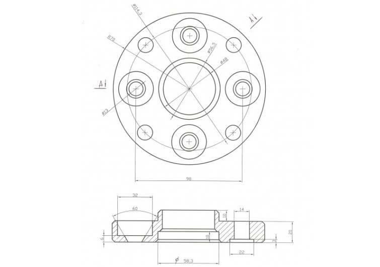Разболтовка 4×114,3